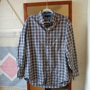 Vintage Tommy Hilfiger Plaid Button Down Shirt